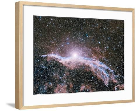 Veil Nebula Supernova Remnant-Davide De Martin-Framed Art Print