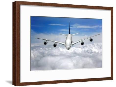 Jet Flight, Composite Image-Victor De Schwanberg-Framed Art Print