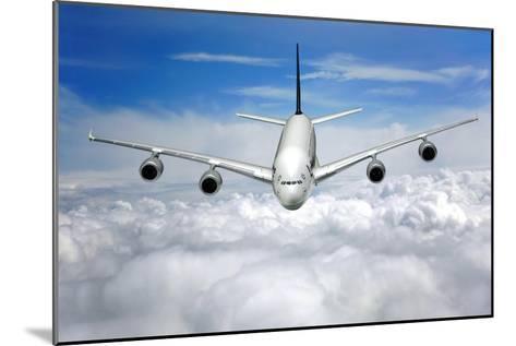 Jet Flight, Composite Image-Victor De Schwanberg-Mounted Photographic Print