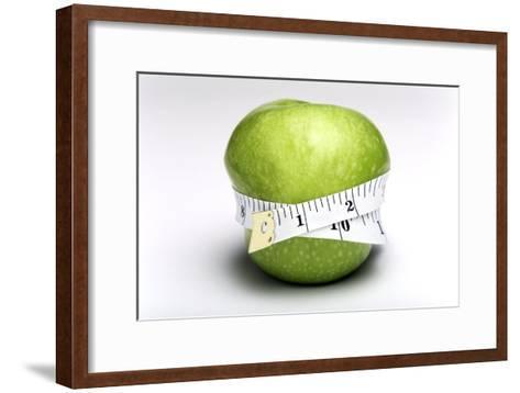Weightloss, Conceptual Image-Victor De Schwanberg-Framed Art Print