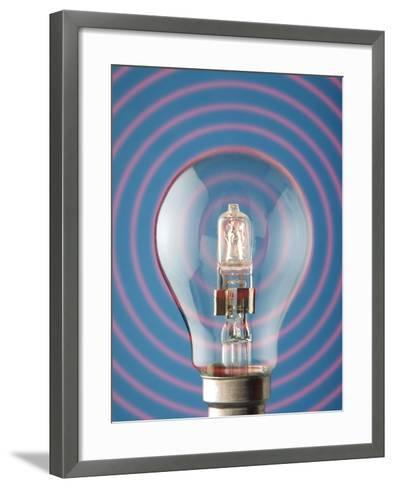 Light Bulb-Victor De Schwanberg-Framed Art Print