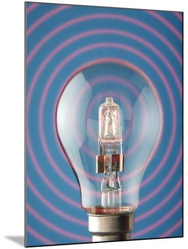 Light Bulb-Victor De Schwanberg-Mounted Photographic Print
