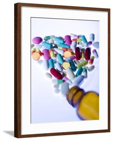 Pills-Cristina-Framed Art Print