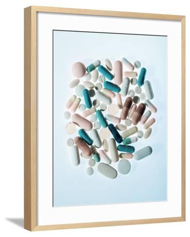 Pills-Cristina-Framed Art Print