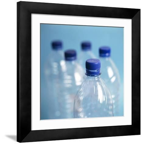 Plastic Water Bottles-Cristina-Framed Art Print