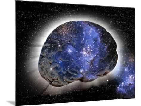 Cosmic Consciousness, Conceptual Artwork-Victor De Schwanberg-Mounted Photographic Print