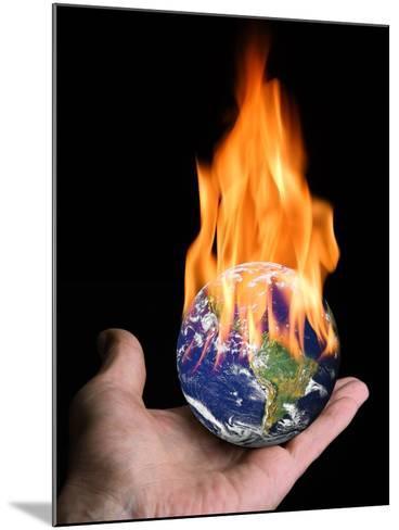 Global Warming, Conceptual Artwork-Victor De Schwanberg-Mounted Photographic Print