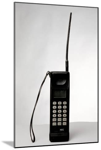 Early Mobile Phone-Victor De Schwanberg-Mounted Photographic Print