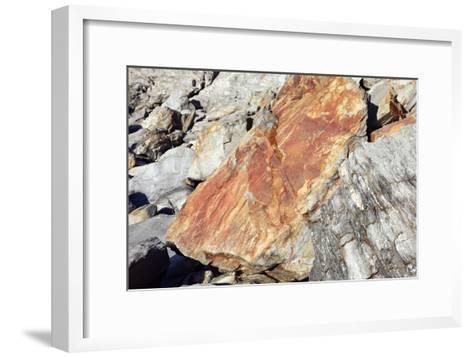 Iron Oxide Deposit-Victor De Schwanberg-Framed Art Print