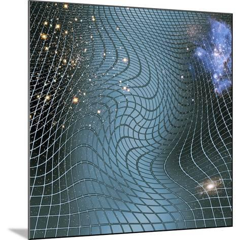 Gravity Waves In Space-time, Artwork-Victor De Schwanberg-Mounted Photographic Print
