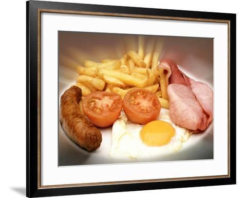 Fried Meal-Victor De Schwanberg-Framed Art Print