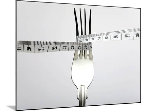 Dieting, Conceptual Image-Victor De Schwanberg-Mounted Photographic Print