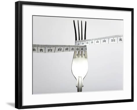 Dieting, Conceptual Image-Victor De Schwanberg-Framed Art Print