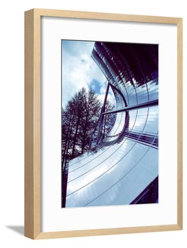 Solar Powered Water Heater-Victor De Schwanberg-Framed Art Print