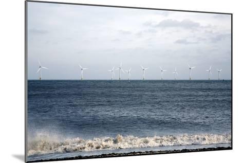 Offshore Wind Farm-Victor De Schwanberg-Mounted Photographic Print