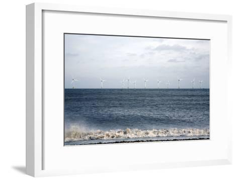 Offshore Wind Farm-Victor De Schwanberg-Framed Art Print