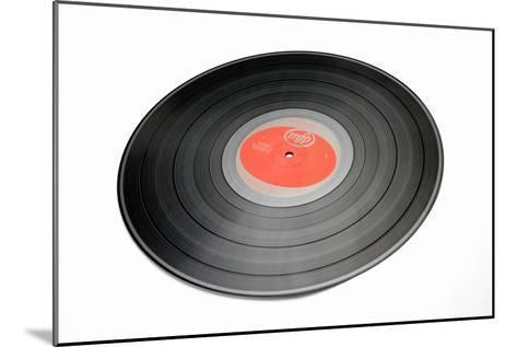 Vinyl Record-Victor De Schwanberg-Mounted Photographic Print