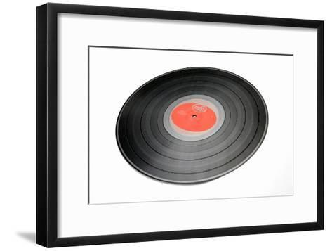 Vinyl Record-Victor De Schwanberg-Framed Art Print