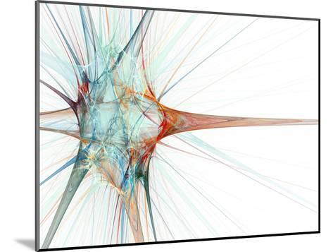 Nerve Cell, Abstract Artwork-Laguna Design-Mounted Photographic Print
