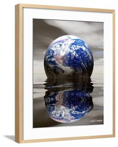 Earth-Victor Habbick-Framed Art Print