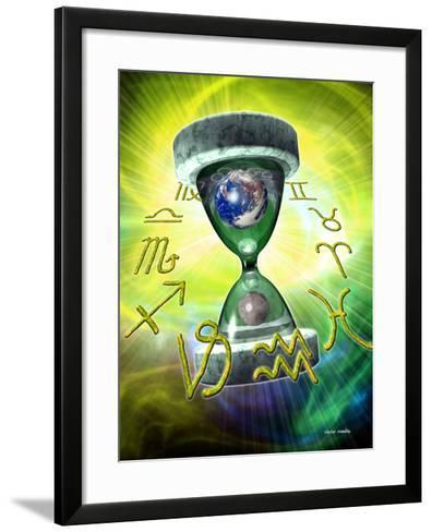 Zodiac Signs-Victor Habbick-Framed Art Print