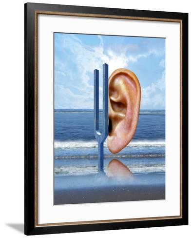 Tinnitus-Victor Habbick-Framed Art Print