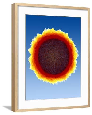 Mathematical Model-Eric Heller-Framed Art Print