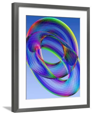 Torus-Eric Heller-Framed Art Print
