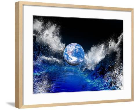 End of the World, Conceptual Artwork-Victor Habbick-Framed Art Print