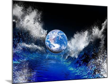 End of the World, Conceptual Artwork-Victor Habbick-Mounted Photographic Print