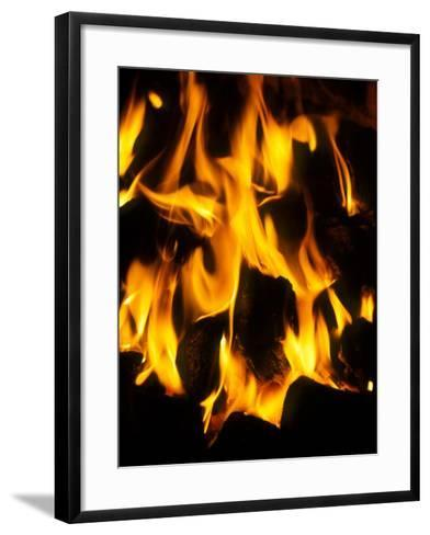 Burning Coal-Tek Image-Framed Art Print