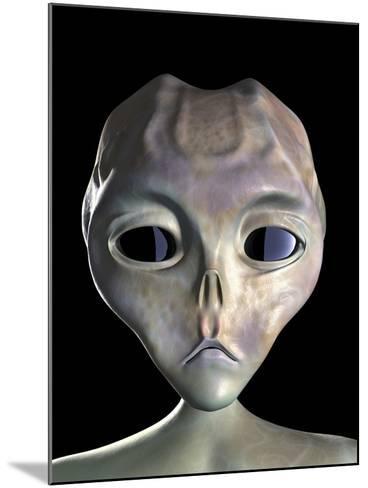 Alien-Roger Harris-Mounted Photographic Print