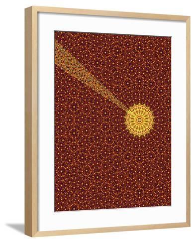 Quasicrystal-Eric Heller-Framed Art Print