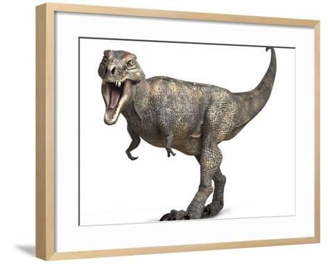 Tyrannosaurus Rex Dinosaur-Roger Harris-Framed Art Print