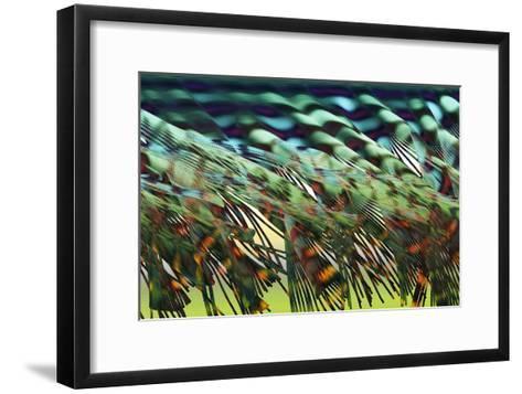 Electron Flow-Eric Heller-Framed Art Print