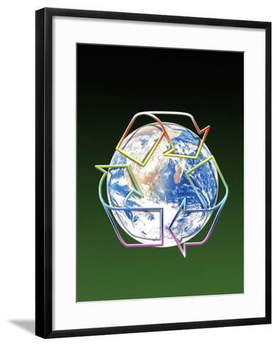 Recycling-Victor Habbick-Framed Art Print