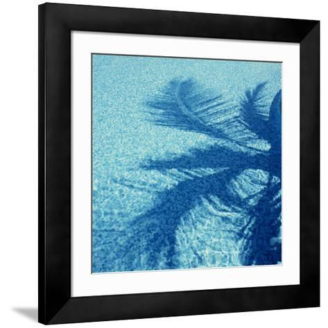 Water Ripples-Tek Image-Framed Art Print