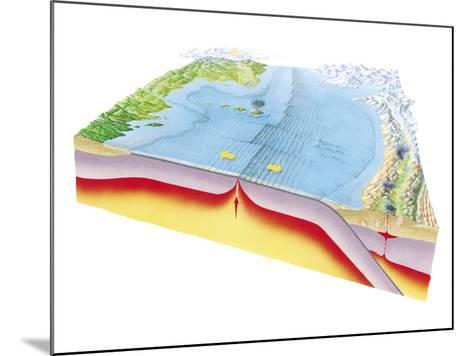 Plate Tectonics-Gary Hincks-Mounted Photographic Print