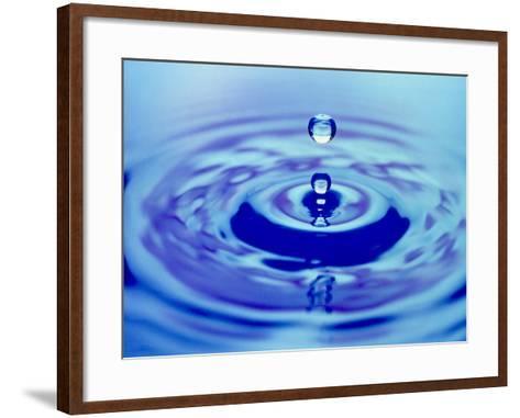 Water Drop Impact-Adam Hart-Davis-Framed Art Print
