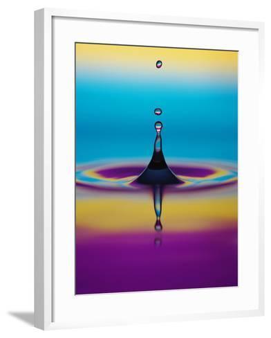Water Drop-Adam Hart-Davis-Framed Art Print