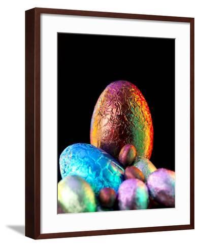 Easter Eggs-Tek Image-Framed Art Print