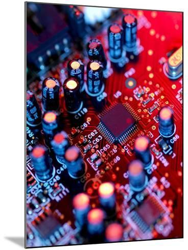 Circuit Board-Tek Image-Mounted Photographic Print
