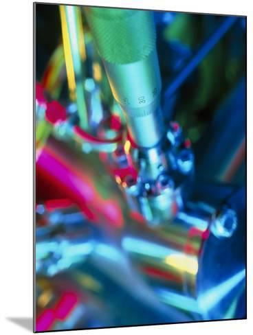 Close-up of Part of a Mass Spectrometer-Tek Image-Mounted Photographic Print