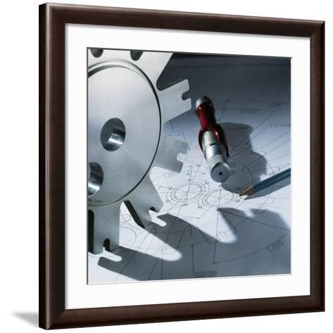 Engineering Equipment-Tek Image-Framed Art Print