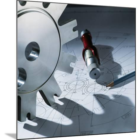 Engineering Equipment-Tek Image-Mounted Photographic Print