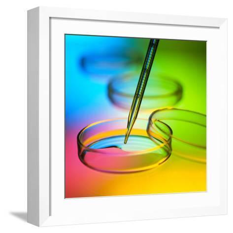 Laboratory Glassware-Tek Image-Framed Art Print