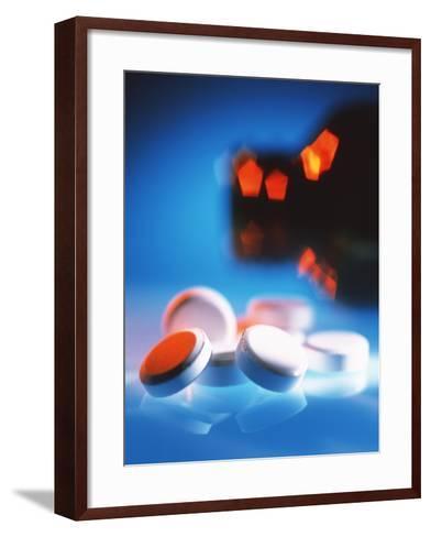 Pills-Tek Image-Framed Art Print