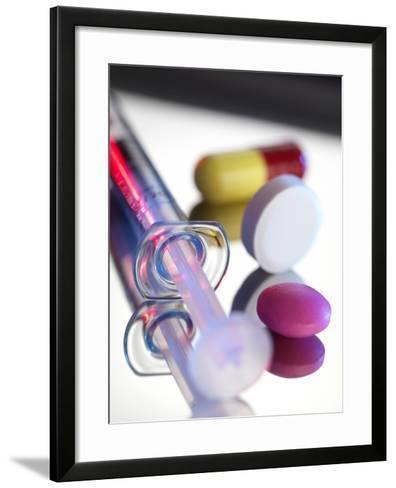 Drugs-Tek Image-Framed Art Print