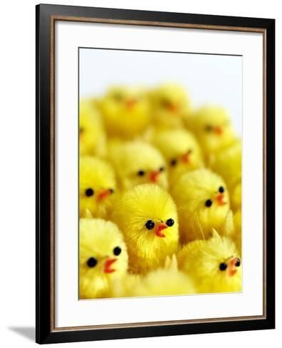 Toy Chicks-Tek Image-Framed Art Print