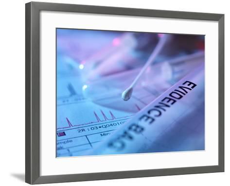 Forensic Evidence-Tek Image-Framed Art Print
